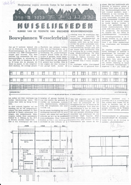 1965-10-01 Huiselijkheden, krant van woningbouwverenigingen bron Dhr en Mw Buijs.jpg