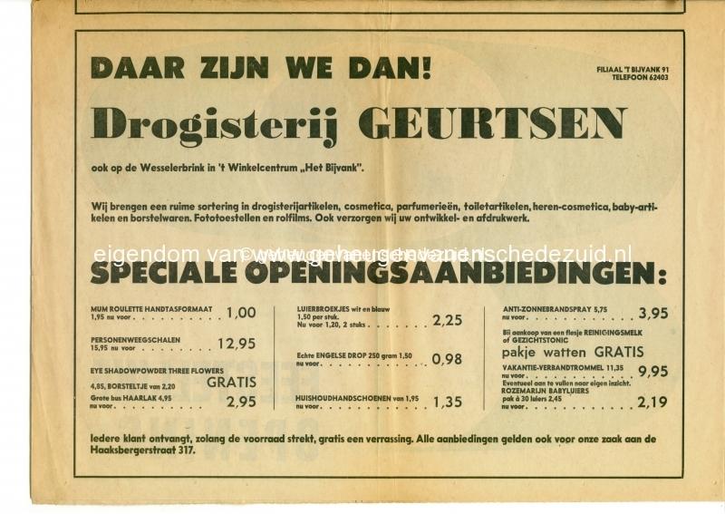 1970 11 juni, opening winkelcentrum het bijvank, bron WF Franke (11).jpg