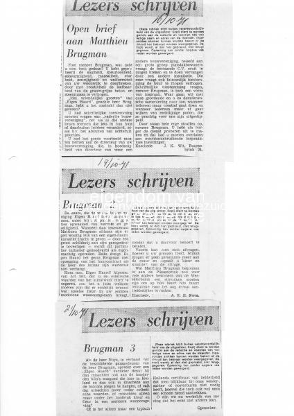 1971-10-16 lezers schrijven reactie op tekenleraar brugman.jpg