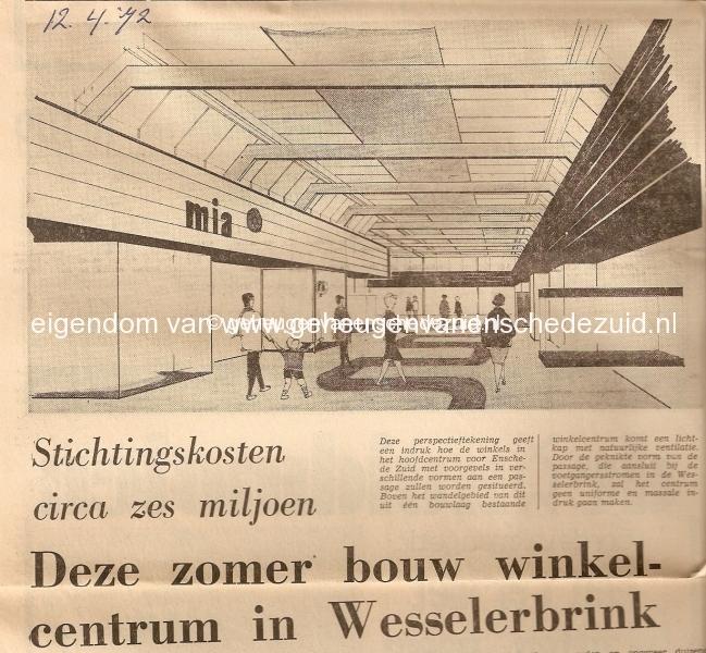 1972 Start Bouw winkelcentrum Wesselerbrink.jpg