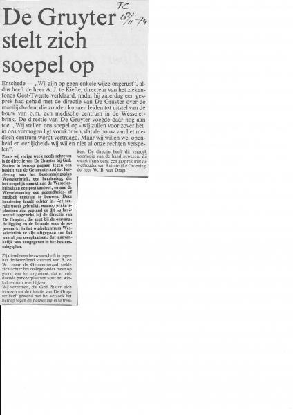 1974-11-18 Supermarkt gruyter Zuid bron Bruinewoud.jpg