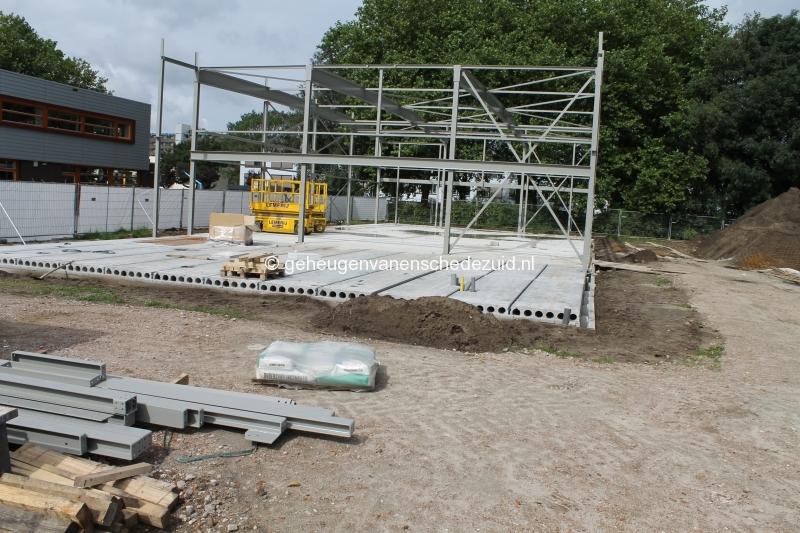 2012-2013 Nieuwbouw gymzaal Het Riet Fotograaf Arie Westerhuis (10005).JPG