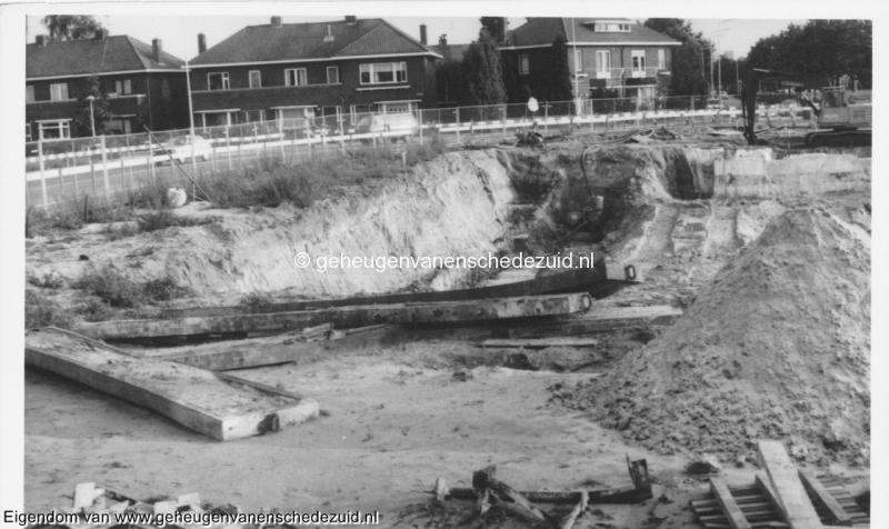 1988-1990 Aanleg  rijksweg 35 Van Veenlaan, afrit voor bouwverkeer bron Hans Tietjens (33).jpg