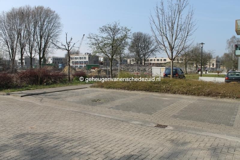 2014-03-28 Het nieuwe Bijvank Zicht vanaf Broekheurnestede op nieuwbouw (1).JPG