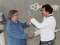 2014-06-05 Het nieuwe Bijvank Eerste sleutel bewoners (10009).JPG