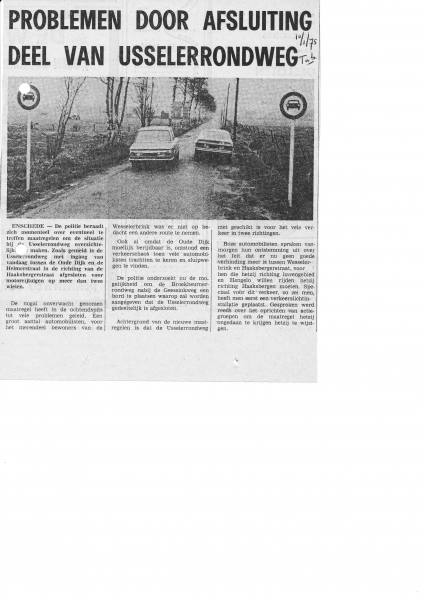 1975-01-10 Usselerrondweg ontsluiting Zuid.jpg