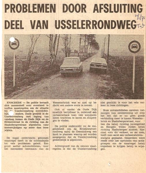 1975 Jan. Afsluiting oude Usselerrondweg.jpg