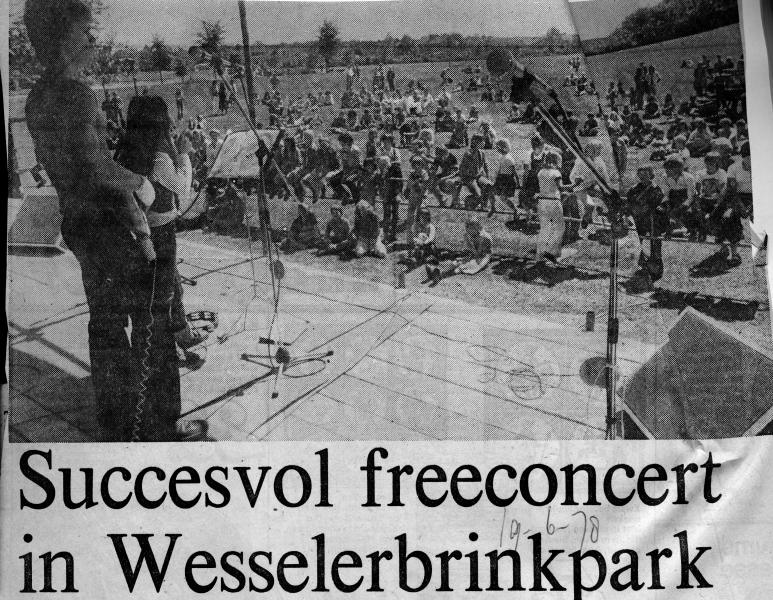 1978-06-19 Concert in Wesselerbrinkpark foto.jpg