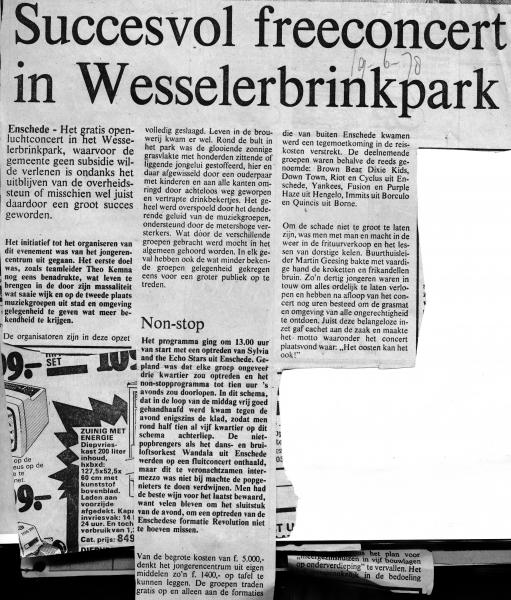 1978-06-19 Concert in Wesselerbrinkpark tekst.jpg