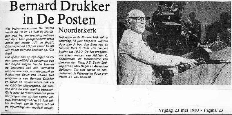 1980-05-23 Bernard Drukker optreden in de Posten.jpg