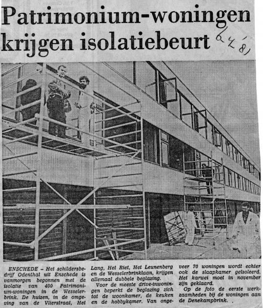 1981-04-06 Isolatie Denekampbrink.jpg