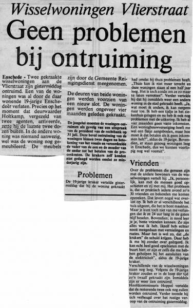 1981-08-07 Ontruiming wisselwoningen Vlierstraat tekst (1).jpg
