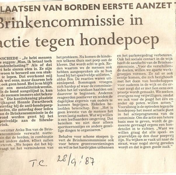 1987 Twentse Courant Brinkencommissie op Sibculobrink.jpg