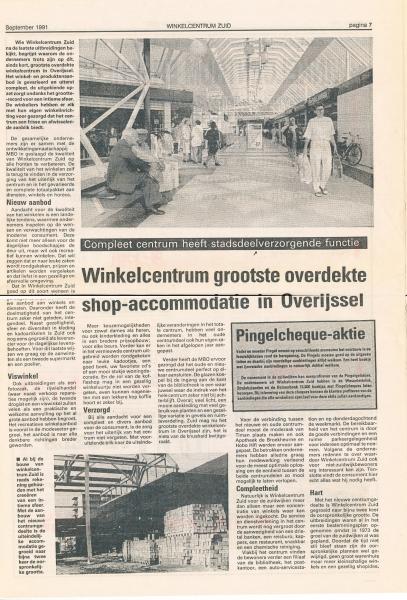 1991 uitbreiding winkelcentrum Zuid bron Anne Postma (12).jpg