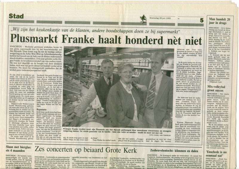 1995 28 juni, sluiting Plusmarkt Franke winkelcentrum het bijvank, bron WF Franke.jpg