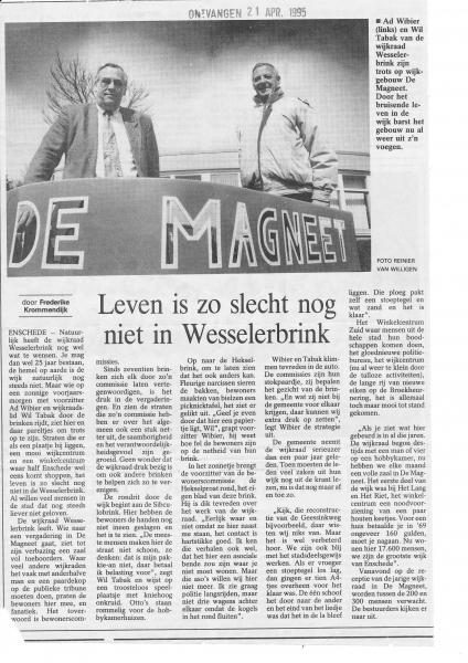 1995 Opening wijkcentrum de Magneet.jpg
