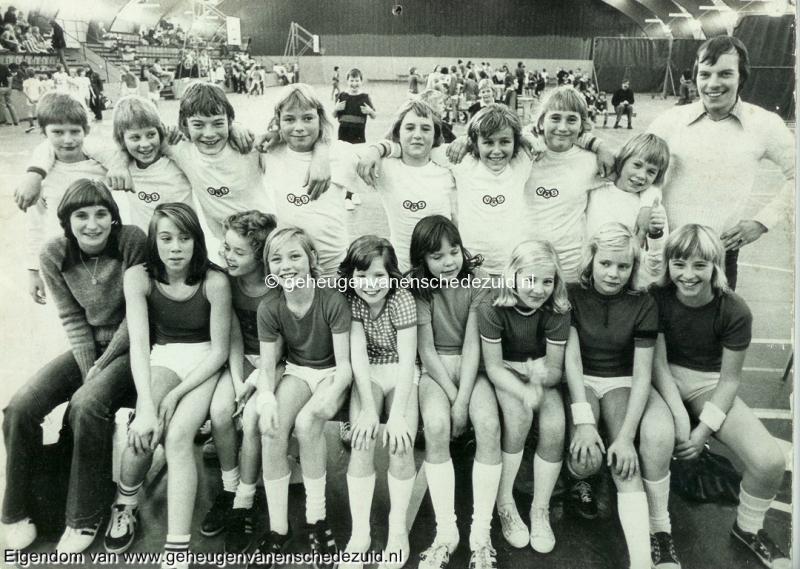 1976, HM van Randwijkschool, Korfbalteam van Randwijkschool, 1976, bron Wim Geverink.jpg
