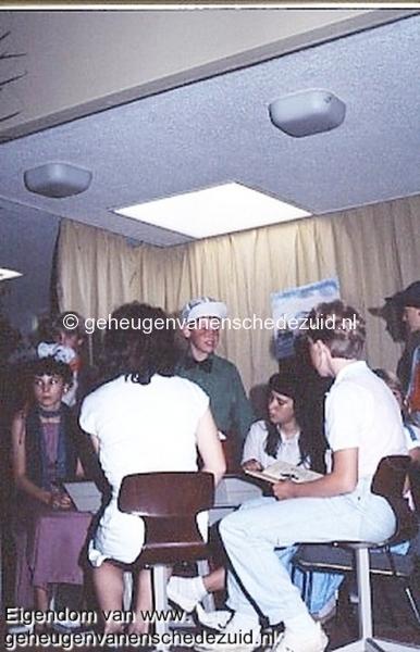 1984 v. Gelderschool, 21 Juni 1984 afscheidsfeest Musical bron Hans Tietjens.jpg