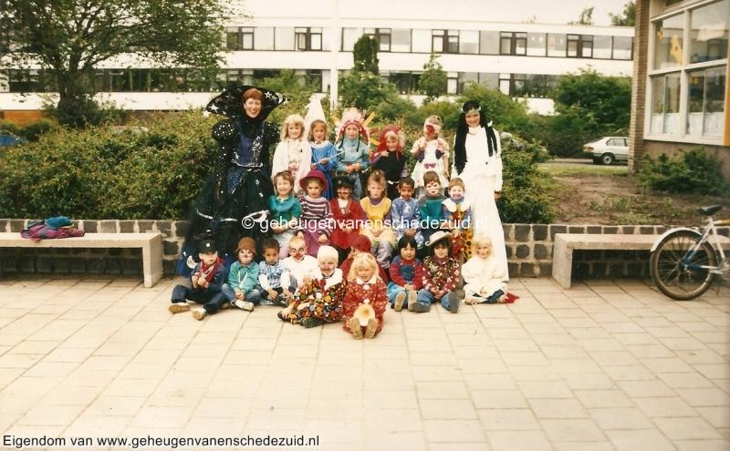 1990-1991, OBS het Bijvank, kleuterklas schooljaar 1990 of 1991, Juf Jeanette Haverman bron Brigitte Westerhuis.jpg