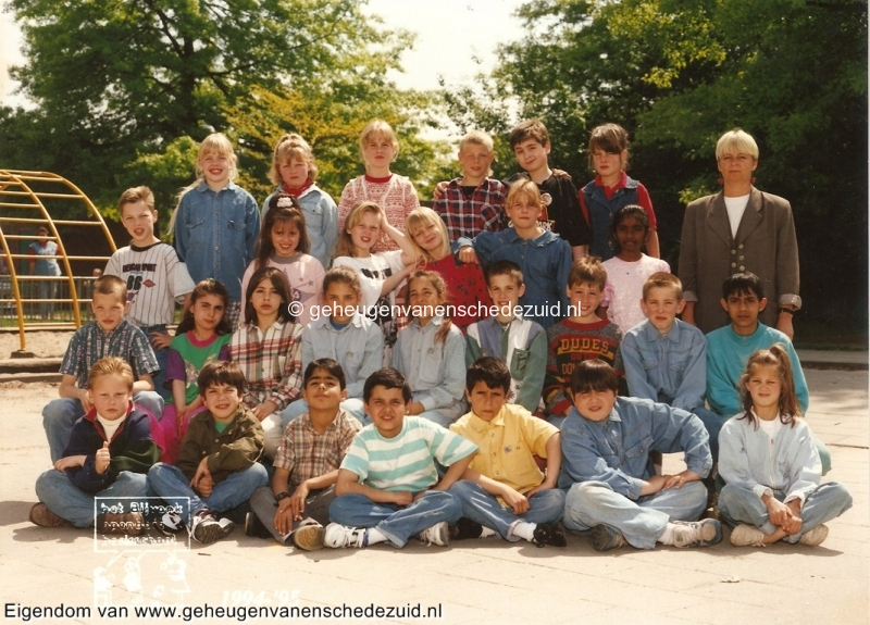 1994-1995, OBS het Bijvank, groep 5 schooljaar 94-95, bron Brigitte Westerhuis.jpg