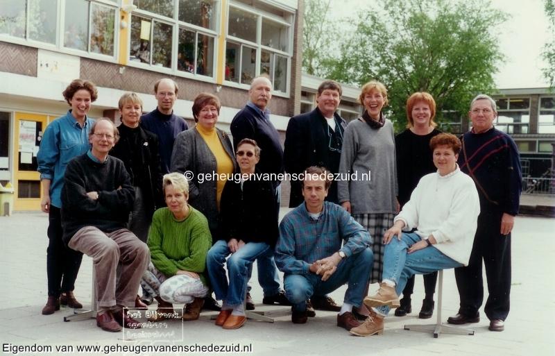 1995-1996, OBS het Bijvank, lerarenteam, bron Wim Geverink.jpg