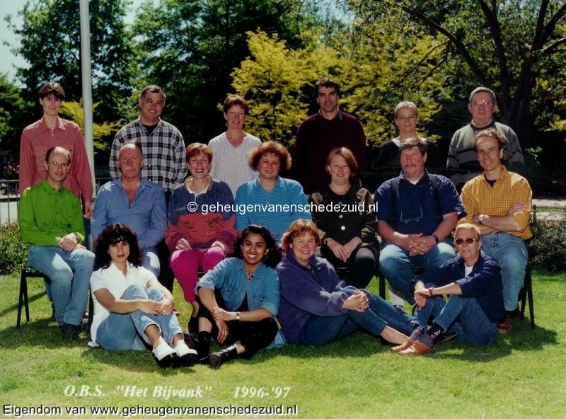 1996-1997, OBS het Bijvank, lerarenteam, bron Wim Geverink.jpg