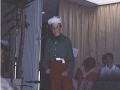 1984 v. Gelderschool, 21 Juni 1984 afscheidsfeest musical-Dennis Tietjens als Peerke bron Hans Tietjens.jpg