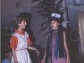 1984 v. Gelderschool, 21 Juni 1984 afscheidsfeest musical-Yvonne Bos en Esther Casu bron Hans Tietjens.jpg