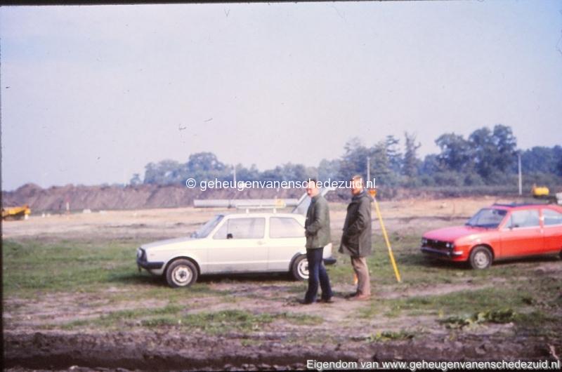 1982 begin bouw Helmerhoek omgeving Beekwoudehoek bron K, Koster (9) (small).jpg