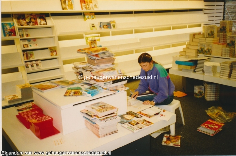 1991 sept, Opening en Nieuwbouw Bruna  WC Zuid, bron Anne Postma (27).jpg
