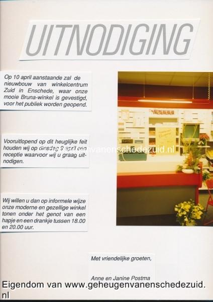 1991 sept, Opening en Nieuwbouw Bruna  WC Zuid, bron Anne Postma (38).jpg