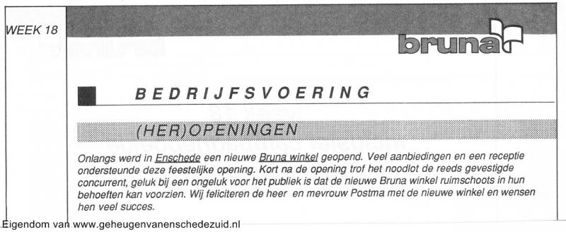 1991 sept, Opening en Nieuwbouw Bruna  WC Zuid, bron Anne Postma (62).jpg