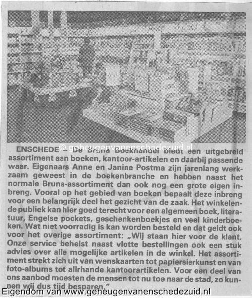 1991 sept, Opening en Nieuwbouw Bruna  WC Zuid, bron Anne Postma (69).jpg